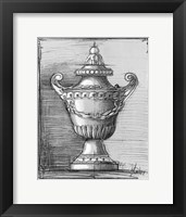 Framed Custom Classical Sketch IV (U)
