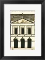 Framed Building Facade III