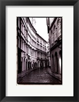 Framed Streets of Prague I
