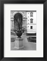 Framed Royal Urn II