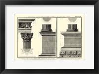 Framed Small Cornice Tempio di Vesta