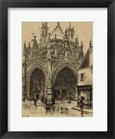 Framed Small Ornate Facade I