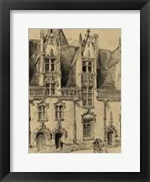 Framed Small Ornate Facade II