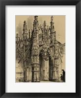 Framed Small Ornate Facade IV
