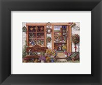 Framed Fancy Flower Shoppe
