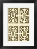 Framed Small Garden Maze II (P)