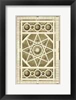 Framed Small Garden Maze VI (P)