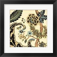 Framed Small Jacobean Tile I (P)