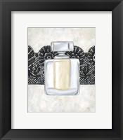 Framed Femme Noir III