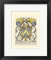 Framed Noble Heraldry IV