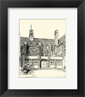 Framed English Architecture VI