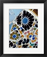 Framed Mosaic Fragments I