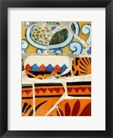 Framed Mosaic Fragments II