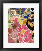 Framed Mosaic Fragments III