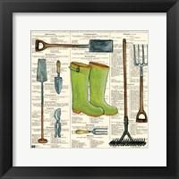Framed Garden Boots