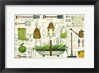Framed Garden Collection I