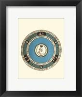 Framed Sevres Porcelain IV