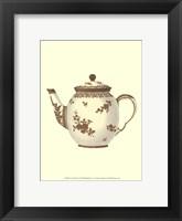 Framed Sevres Porcelain VI