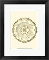 Framed Sevres Porcelain VIII