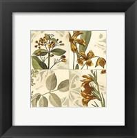 Framed Small Botanical Quadrant IV (P)