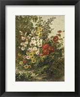 Framed Small Flower Garden (P)