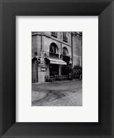 Framed Paris Cafe