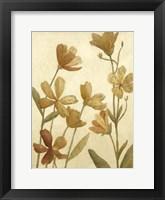 Framed Small Wildflower Field II