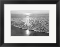 Framed Ocean Sunrise I