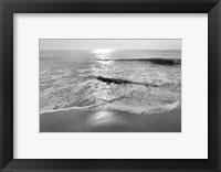 Framed Ocean Sunrise II
