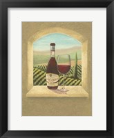 Framed Vineyard Vista I