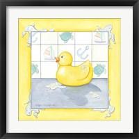 Framed Small Rubber Duck II