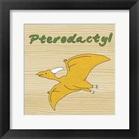Pterodactyl Framed Print