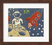 Framed Space Explorer I