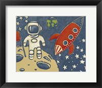 Framed Space Explorer I