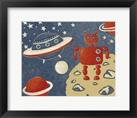 Space Explorer II Framed Print