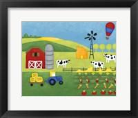 Storybook Farm Framed Print