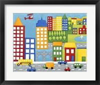 Framed Storybook City