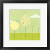 Framed Lollipop Forest I