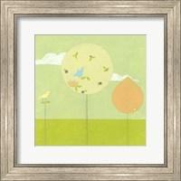 Framed Lollipop Forest II