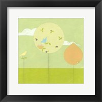 Framed Lollipop Forest II
