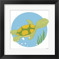 Timothy the Turtle Framed Print