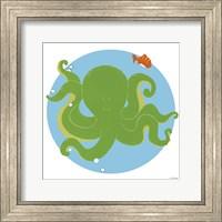 Framed Olga the Octopus