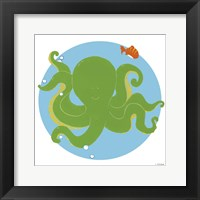 Framed Olga the Octopus