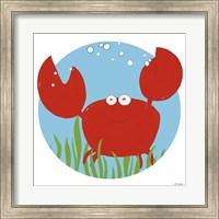 Framed Calvin the Crab
