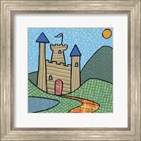 Framed Calico Kingdom I