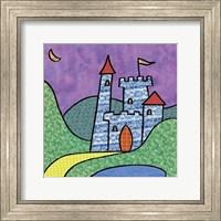 Framed Calico Kingdom IV