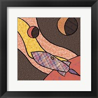 Patchwork Planets II Framed Print