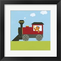 Framed Circus Train I