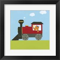 Framed Circus Train I