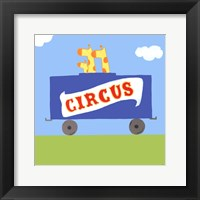 Framed Circus Train II
